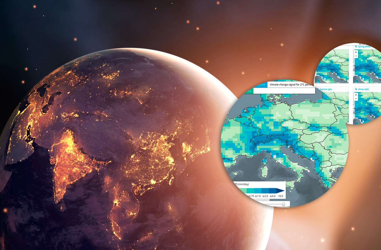 impact2C - Climate atlas