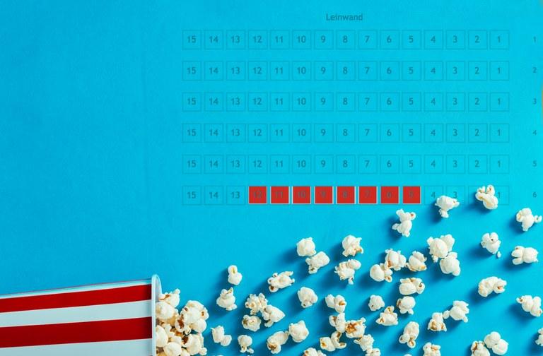 Online-Reservation in Cinemas