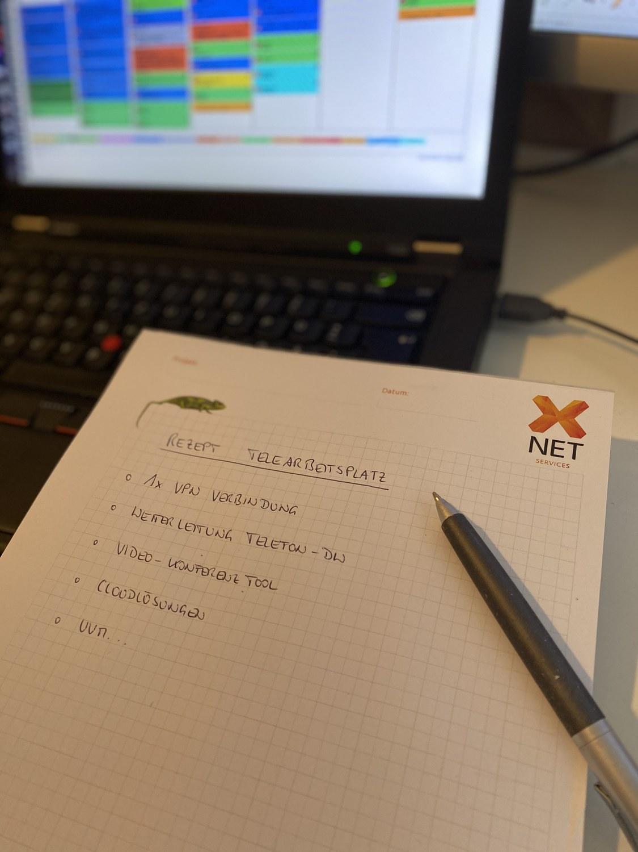 Work@Home - Was braucht ein Telearbeitsplatz?