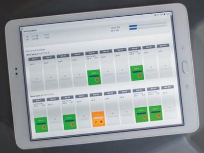 X5 control via tablet-PC
